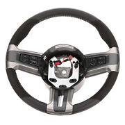 Oem New 2012 Ford Mustang Steering Wheel Assembly Suede Leather Cr3z-3600-ab