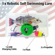 Self Swimming Fishing Lure - Rechargeable Fishing Lures - Best Bass Pike Lures