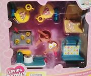 Fisher Price Loving Family Dream Dollhouse Cooking Fun Set 74824 Factory Sealed