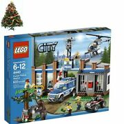 Forest Police Station 4440 Includes 5 Minifigures Toptoys Education Lego City