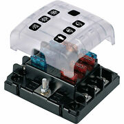 Marinco Atc 6-way Fuse Holder With Cover And Link