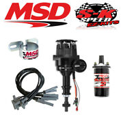 Msd 99063 Ignition Kit Ready To Run Distributor/wires/coil Ford 351c/400/429/460