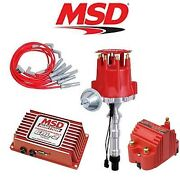Msd 9258 Ignition Kit Programmable 6al-2/distributor/wires/coil Cadillac 368-500