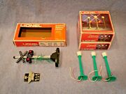New Vintage Lionel O-gage Operating Street Lamps And Automatic Highway Flasher