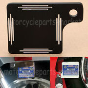 Motorcycle Inspection Tag Sticker Renewal License Plate For Harley Dyna Xl Fl Fx