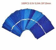 Solar Panel Cells Diy Polycrystalline Photovoltaic Battery Charger 3919mm Diy