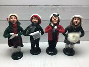 Lot Of 4 Byers' Choice Ltd The Carolers - 1988 X 2, 1990, 1991   Pp065