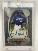 Seuly Matias 2019 Bowman Sterling Continuity Auto 1/1 Royals Star