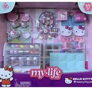 """My Life As Hello Kitty Cafe Bakery 44 Pc Play Set For 18"""" Doll Hot 2020 New Box"""
