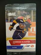 Connor Mcdavid Rookie Card- Erie Ottors Pack Never Opened Extremely Rare Edmonto