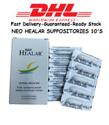 10 Boxes X 10and039s Neo Healar Suppositories Herbal Medicine For Hemorrhoids