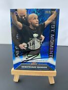 Demetrious Johnson Signed Topps Ufc Finest 2013 /188 Finest Moments Trading Card