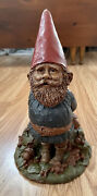"""1983 Tom Clark Gnome Forest Gnome 10"""" Large Version Unieboek 4lbs"""