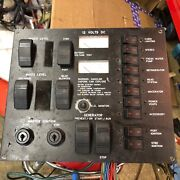 Marine Electrical Panel With Gen Start Switches
