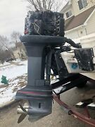 Yamaha Outboard Boat Motor 225 Hp Fuel Injection Salt Water Series Not Running