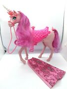 Barbie Fairytale Princess Doll With Pink Unicorn Only At Target 2013 Horse/dress