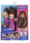 """Failfix Take Over The Makeover Doll With Loves.glam Surprise Fashion-8.5"""" Doll"""