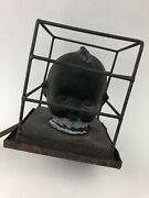 Extremely Rare Antique Copper Kewpie Doll Head Mold W/ Original Hang Brackets