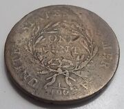 United States - Large American Cent 1/100 Liberty Cap Flowing Air 1794 / Rare