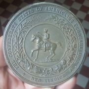 United States - Confederate States Of America Medal 1862 Deo Vindice Rare Medal