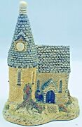 David Winter Cottage Andldquothe Chapelandrdquo 1984 Hand Made / Hand Painted With Certificate