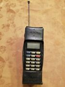 Vintage Very Rare Nokia Pt 612 Cell Phones Car N Home Chargers Lot Of 4 Works