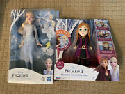 New Disney Frozen 2 Magical Discovery Elsa Doll Lights And Sounds Lot And More