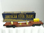 American Flyer Service Car 24533 Die Cast Chassis Modified W/ Original Box