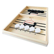 55cm/22and039and039 Fast Sling Puck Game Foosball Winner Games Toy Hockey Game Tabletop