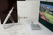 Cross Sterling Silver Limited Edition Tennis Fountain Pen -new In Box 1377/1954