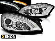 Phares Projecteur For Mercedes W221 2005-2009 Daylight Look D1s Xenon Hid Chrome