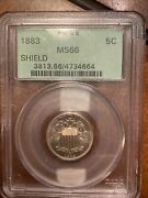 1883/2 Shield Nickel. S1-5005 Newly Discovered