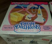 New Fisher Price Loving Family Dream Dollhouse Housekeeping Set 1994 Vacuum More