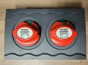 Bep Marine Contour Dual Starting Battery Switch Panel