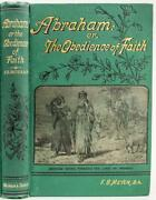 C.1880's Abraham Or, The Obedience Of Faith By F.b. Meyer Spurgeon Recommended