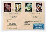 Yugoslavia Chess Stamps Set 1950 Apatin Cover {samwells-covers}cu63