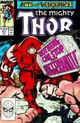Thor 1962 411 6.0-fn 1st Appearance New Warriors Cameo