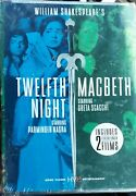 Twelfth Night/macbeth By William Shakespeare Dvd - 2 Film Set New And Sealed