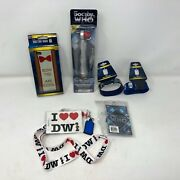 Lot Of Dr. Who Items 8th Doctor Screwdriver 2 Wristbands 2 Lanyards Iphone 5 Cse