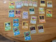 Pokemon Cards Collection 1st Editions Bill Trainers Chips Gold Card