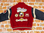 Mickey Mouse Walt Disney Vintage Usa College Genuine Classic Size L Tip Top