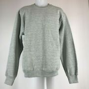 Vintage Fruit Of The Loom Sweatshirts Crewneck Large Ash 50/50 Made In Usa, New.