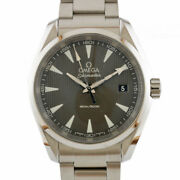Omega Watches Silver Gray Stainless Steel 150m Aqua Terra From Japan