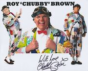 Roy And039chubbyand039 Brown Hand Signed 8x10 Photo Autograph Comedian Royston Vasey I