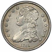 Pcgs Graded 1831 Capped Bust Quarter Pcgs Au Detail Cleaned 41094638