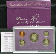 1988 U.s. Mint Proof Set Dc-5499 Signed By Donna Pope