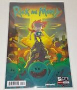 Adult Swim Rick And Morty Comic Variant 1 Bam Mr Meeseeks Cover Limited X/1250
