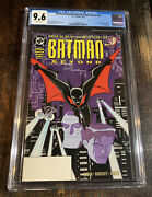 Batman Beyond Special Origin Issue Nn 1999 ⭐️1st Terry Mcginnis Cgc 9.6⭐️⭐️