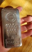 1kg Fine Silver Bullion Bar - The Royal Mint 999.9 + Certificate + Free Delivery