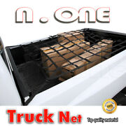 Cargo Net Rear Trunk Tail Gate Storage Carrier Trailer Crew Cab 8.5' Bed Fit Gmc